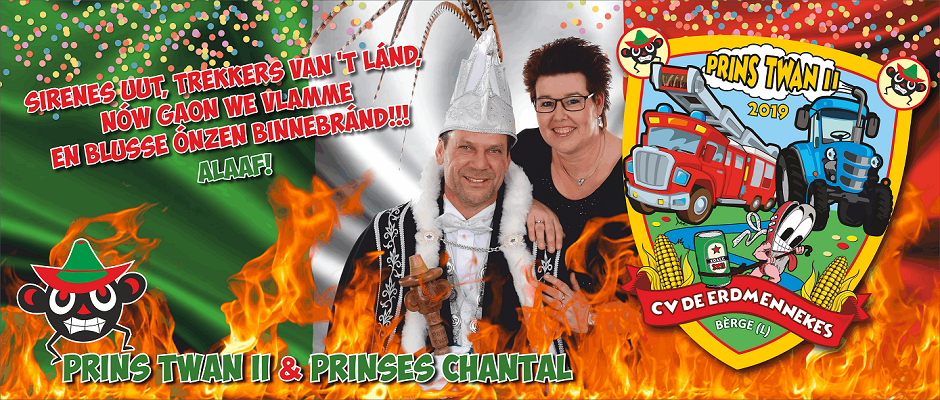Prins Twan II & Prinses Chantal